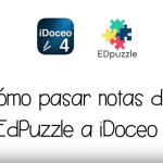 Cómo pasar notas de EdPuzzle a iDoceo